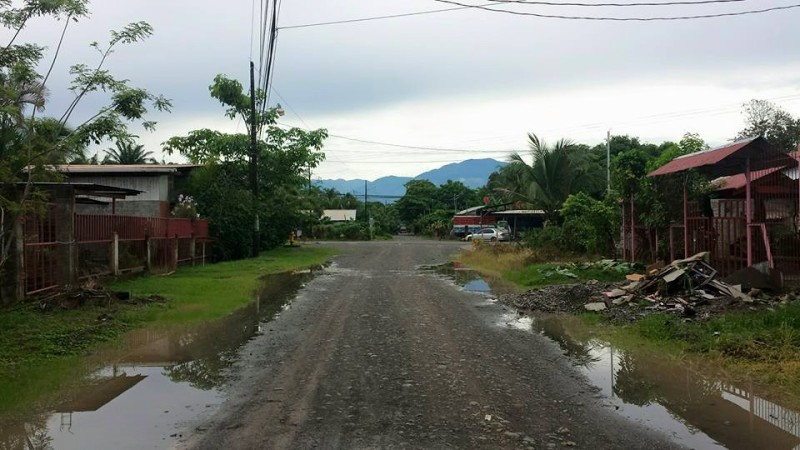 The streets of Parrita...
